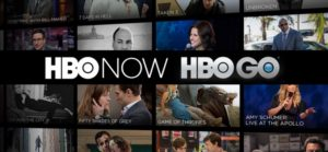 HBO Go and HBO Now logos